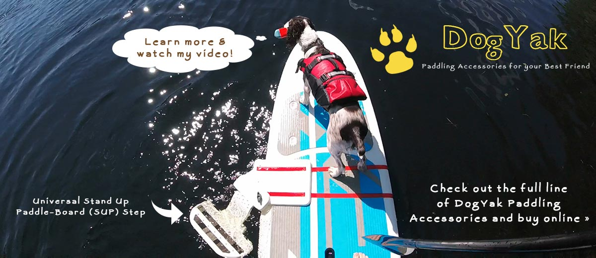 Dog Yak - Paddling Accessories for your best friend